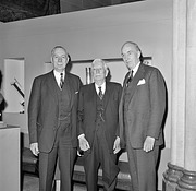 Secretaries Carmichael, Abbot & Ripley