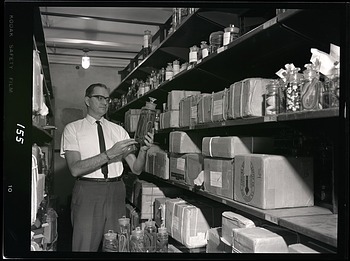 Dr. James A. Peters with Herpetology Collections