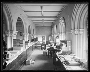 Department of Mollusks Offices, 1880, Smithsonian Institution Archives, SIA Acc. 11-007 [MNH-3669].