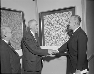 Gewerbe Museum Exhibition at NCFA, by Unknown, 1962, Smithsonian Archives - History Div, MNH805D.