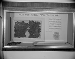 Archeology Exhibit, National Museum of Natural History, Textiles from Spiro Mound