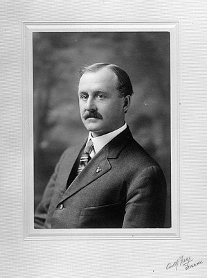John Alden Loring, by Unknown, 1900, Smithsonian Archives - History Div, 21451 or NHB-21451.