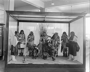 Anthropology Exhibit, Snake Dance