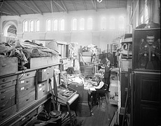Workroom for Indian Ethnology, A&I Building