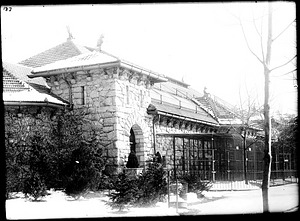Monkey House, 1908, Smithsonian Institution Archives, SIA Acc. 14-167 [NZP-0187].