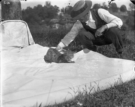 Puma Cub, 1905, Smithsonian Institution Archives, SIA Acc. 14-167 [NZP-0210].