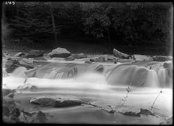 Lower Falls in Rock Creek, 1900, Smithsonian Institution Archives, SIA Acc. 14-167 [NZP-0245].