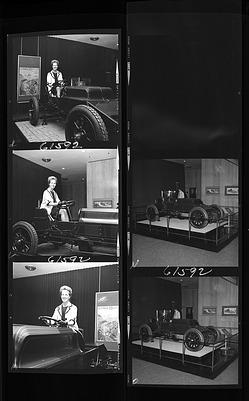 Mary Livingston Ripley in Winton Racer