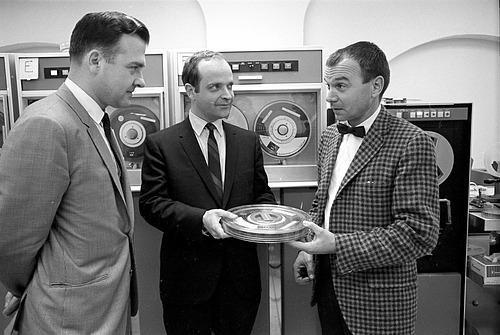 Nicholas J. Suszynski, Jr., Reginald A. Creighton, and Dr. Donald F. Squires