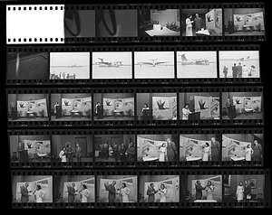 """Presentation of a Model of the Alexander Calder Stabile """"Gwenfritz"""""""