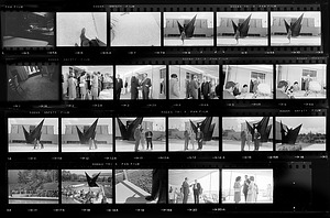 """Dedication Ceremony for Alexander Calder Stabile """"Gwenfritz"""""""
