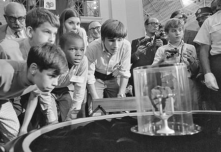 Lunar Sample Exhibit, A&I, 1970