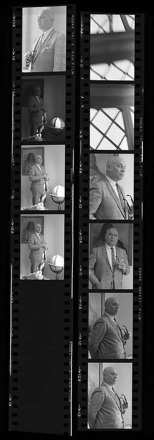 Portrait of Dr. Sidney R. Galler, Assistant Secretary for Science