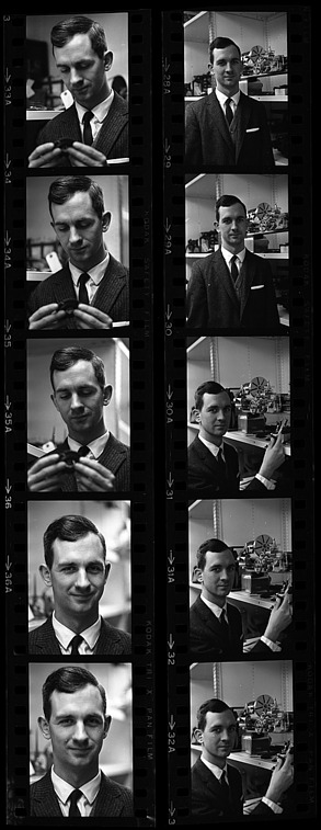 Portrait of Monty A. Calvert, 1965, Smithsonian Institution Archives, SIA Acc. 11-008 [OPA-38].