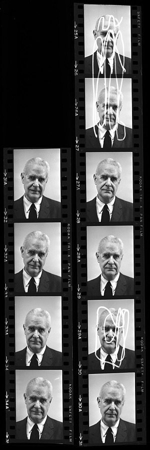 Portrait of Charles Nagel, 1965, Smithsonian Institution Archives, SIA Acc. 11-008 [OPA-9].