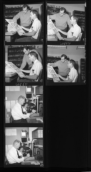 SI Scientists in Their Labs, 1966, Smithsonian Institution Archives, SIA Acc. 11-008 [OPA-946R1].