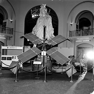 Mariner IV Exhibit in A&I, 1965