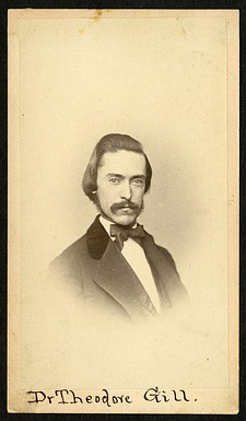 Theodore Nicholas Gill (1837-1914), Smithsonian Institution Archives, SIA RU000095 [SA-602].