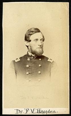 Ferdinand Vandeveer Hayden (1829-1887), Smithsonian Institution Archives, SIA RU000095 [SA-657].