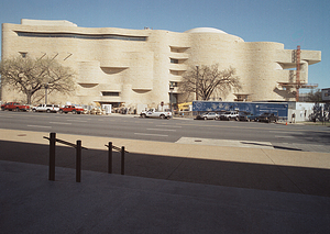 Construction of NMAI from Independence Avenue
