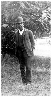 Solomon G. Brown, by Unknown, 1891, Smithsonian Archives - History Div, SA-754 and SIA2007-0039.