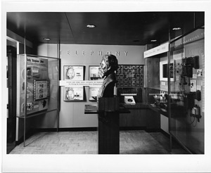 Telephony Exhibit in Arts and Industries Building, 1957