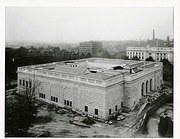 Aerial View of East and North Sides of Freer Gallery