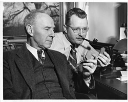 (left to right): Norman Levi Bowen (1887-1956) and Orville Frank Tuttle (1916-1983)
