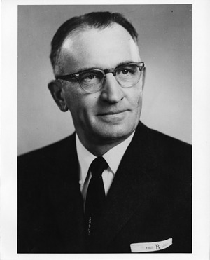 Lawrence Brock (1906-1968), 1960, Smithsonian Institution Archives, SIA Acc. 90-105 [SIA2008-0036].