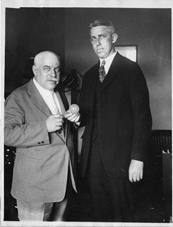 George Kimball Burgess (1874-1932) with A. E. Snyder