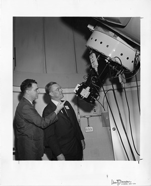 (left to right): Donald C. Schmalberger and Gerald Maurice Clemance (1908-1974)