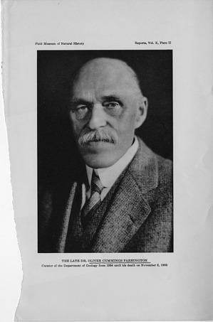 Oliver Cummings Farrington (1864-1933)