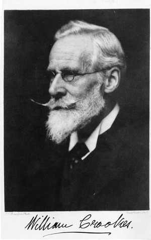 William Crookes (1832-1919), Smithsonian Institution Archives, SIA Acc. 90-105 [SIA2008-0727].
