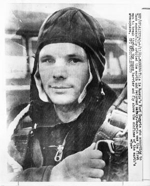 Yuri Gagarin (1934-1968), 1961, Smithsonian Institution Archives, SIA Acc. 90-105 [SIA2008-1800].