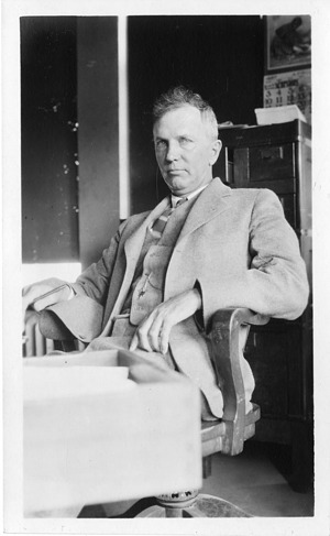 Charles Newton Gould (1868-1949), Smithsonian Institution Archives, SIA Acc. 90-105 [SIA2008-2013].