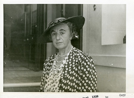 Dorothy Mary Page Gregory (Lady Gregory)