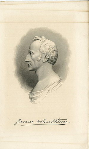 James Smithson, Engraving from Medallion