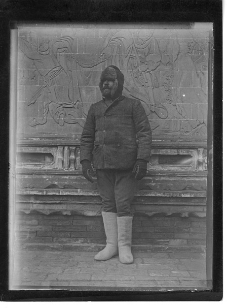 Arthur de Carle Sowerby in winter garb
