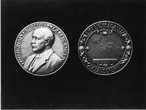 National Academy of Sciences Alexander Agassiz Medal awarded to Bjørn Helland-Hansen