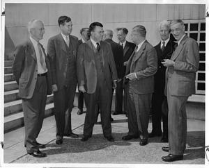 Joel Henry Hildebrand; John Clarke Slater; Edward Uhler Condon; Lee Alvin DuBridge; Albert Wallace Hull; and Vannevar Bush