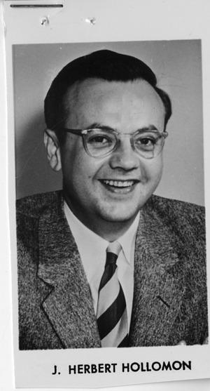 John Herbert Hollomon, Jr. (1919-1985)