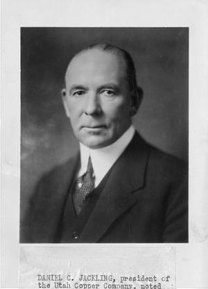 Daniel Cowan Jackling (1869-1956)