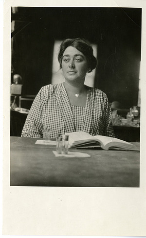 Mathilde Margarethe Lange (1888-1974?)