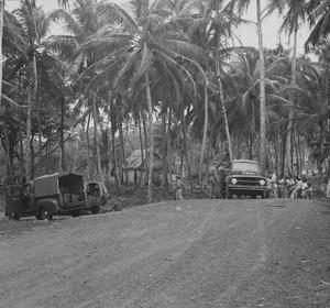 The Air Force Trucks at Río Salud, Colón, Panama, 1952