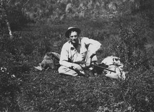 Alexander Wetmore on Sierra San Xavier in Argentina in 1921