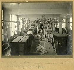 Painters Working in the Natural History Building