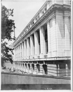 Construction of the United States National Museum Building
