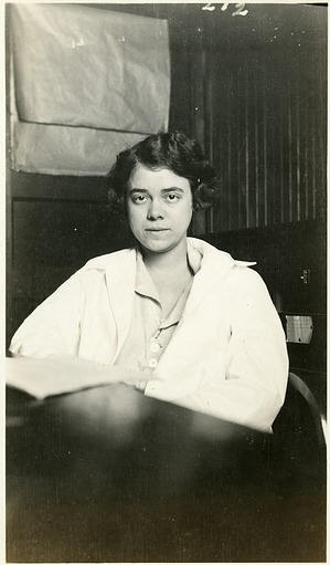 Helen Redfield (b. 1900), Smithsonian Institution Archives, SIA Acc. 90-105 [SIA2009-2141].