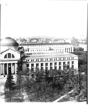Looking at Mall from SIB Towers - A Panoramic View of Washington, D.C