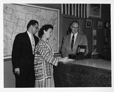 Helena Weiss, George B. Griffenhagen and Bane